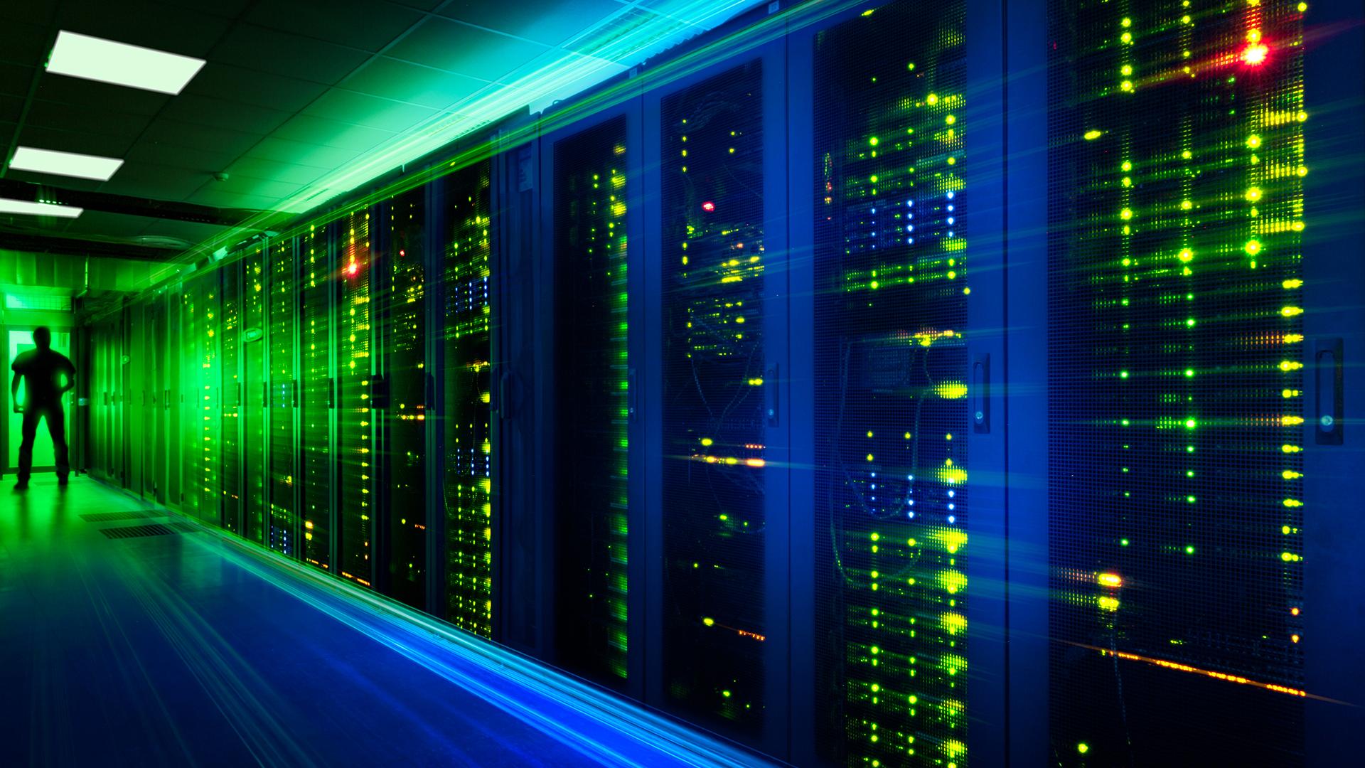 slide picture data center racks
